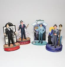collection of frank sinatra singing ornaments ebth