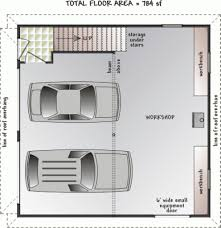 2 car garage design just needs a work table and a lift to complete