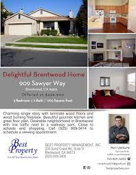 909 sawyer way brentwood ca 94513 best property management inc
