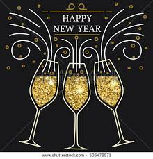 new years chagne glasses chagne glasses stock images royalty free images vectors