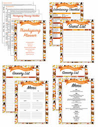 thanksgiving thanksgiving menu planner template free with grocery