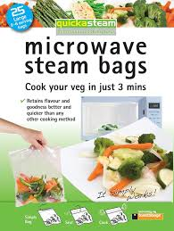 Planit Software Kitchen Design Amazon Com 25 Pack Large Quickasteam Microwave Steam Cooking Bags