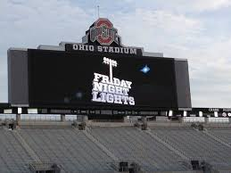 friday night lights ohio friday night lights ohio state puts on a show for recruits in ohio