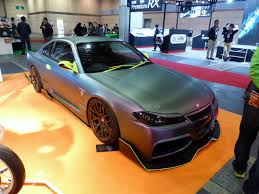 modified nissan silvia s15 file osaka auto messe 2014 141 japan motor sports college