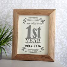 1st year wedding anniversary paper 1st wedding anniversary gifts the gift experience