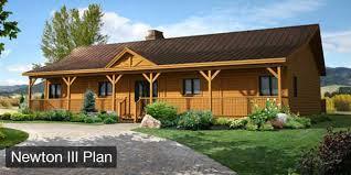 Cottage Floor Plan Log Home U0026 Cabin Floor Plans