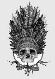 indian headdress tattoo on ribs pin by joey jo on my love for skulls pinterest