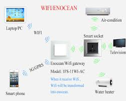 enocean u0026 remote control light music curtain switch for smart