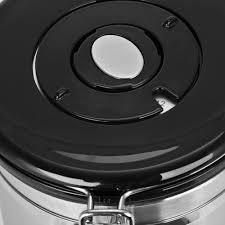 coffee tea sugar storage tanks sealed cans stainless steel