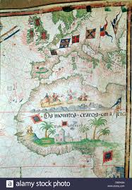 Map Of Africa And Europe by Portuguese Map Of 1558 By Bastian Lopez Showing Europe British