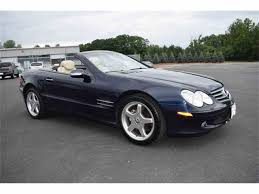 2003 mercedes benz sl500 for sale classiccars com cc 1012794