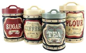 canisters sets for the kitchen ceramic kitchen canister sets or beige kitchen canisters new