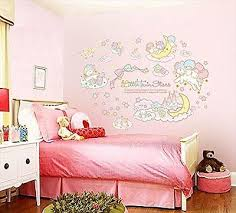 little twin stars iridescent wall stickers posters peel off