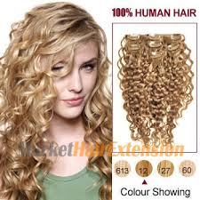 clip in hair extensions uk buy 16 golden brown 12 7pcs curly clip in indian remy hair