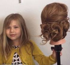 hairstyles to do on manikin arizona 5 year old girl becomes instagram star thanks to her jaw
