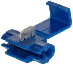 morris products 10774 quick splice connector blue 18 14 wire