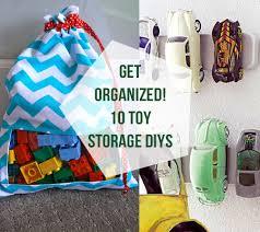 get organized tutorials and diy ideas for creative toy storage