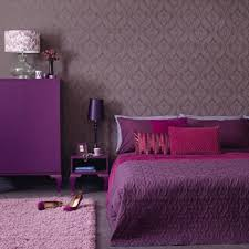 bedroom purple bedroom with pink comfort bed also cubical white