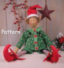 sewing patterns christmas elf free fabric doll patterns pattern christmas elf primitive vintage