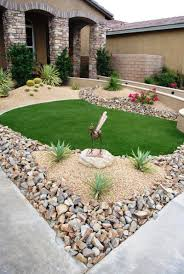 image of inexpensive landscaping ideas for front yard easy design