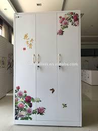 2 heat print flower color door living room wardrobe almirah design