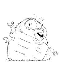 monsters aliens coloring pages