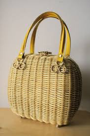 43 best wicker bags images on pinterest wicker newspaper and