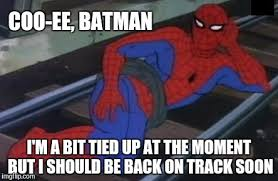 Spiderman Meme - sexy railroad spiderman meme imgflip