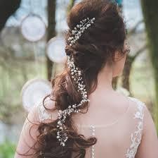 rhinestone hair ulyana bridal pearls and rhinestone hair vine by lhg designs