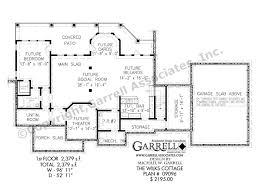 Cottge House Plan by Wilks Cottage House Plan Covered Porch Plans
