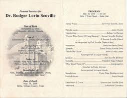 Unique Funeral Programs Funeral Programs The Memorial Service Bulletin Create Online