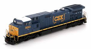 box car train athearn ho 29241 c44 9w csx box car logo 9043