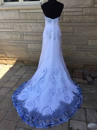 costume wedding dresses the corpse costume wedding dress painted