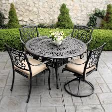 black patio furniture sets ewdinteriors