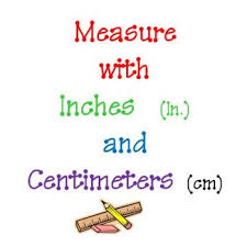 measure inches u0026 centimeters with a ruler primary by teachersrock60