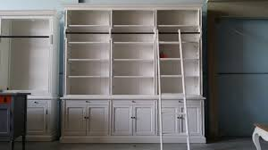 french library bookcase with ladder bobsrugby com