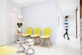 google chairs dermatology office by studiogreener featuring boconcept adelaide