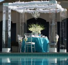wedding chuppah rental acrylic wedding chuppah canopy altar arch rentals miami south