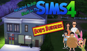 bob s burgers bob u0027s burgers restaurant and apartment the sims 4 speed build
