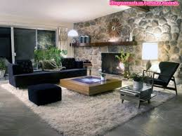 Black Sofa Living Room Living Room Furniture Design Ideas With Fireplace And Black Sofa