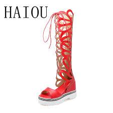 celebrity pom pom lace up sandals fringe women high heels shoes