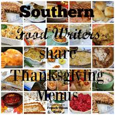 three southern thanksgiving menus syrup and biscuits