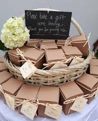 gifts for wedding guests ideas of presenting wedding favors weddingelation