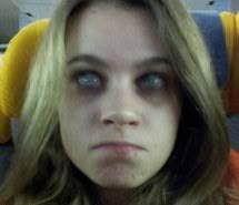 Creepy Girl Meme - scary images on favim com page 123
