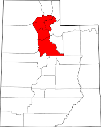 Map Of University Of Utah by Area Codes 801 And 385 Wikipedia