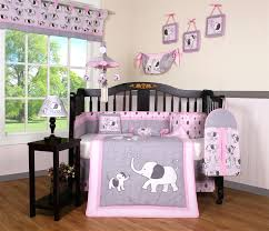 Mini Crib Size Decoration Mini Crib Comforter Set Elephant Dynasty Boutique