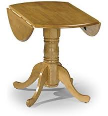 Rhode Island Round Drop Leaf  Seater Dining Table WhiteNatural - Round drop leaf kitchen table