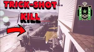 the diamond trick shot kill rainbow six siege youtube