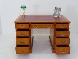 B Otisch Mit Schubladen Schreibtisch Bürotisch Büromöbel Eibe Kirsche Im Englischen Stil