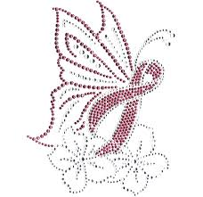 s102070 pink butterfly ribbon isaacs designs